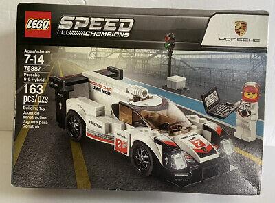 LEGO 75887 Speed Champions Porsche 919 Hybrid New With Damaged Box