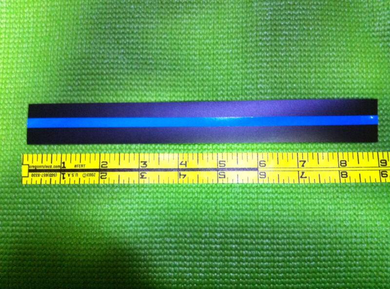 Thin Blue Line - NYPD Blue - 9 inch x 1 inch sticker - Ships FREE - FOP PBA