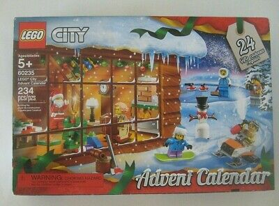 LEGO City: Advent Calendar 60235 Open Box / Sealed Bags