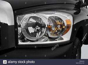 Dodge Ram 1500 stock headlights