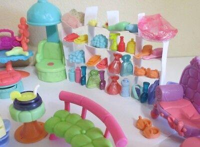 Littlest Pet Shop Lps Lot 10 Random Pcs Accessories Hair Salon Spa for Dogs Cats