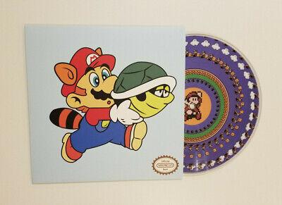 "Super Mario Bros. 3 VINYL PICTURE DISC RECORD 7"" limited Koji Kondo NEW SEALED"