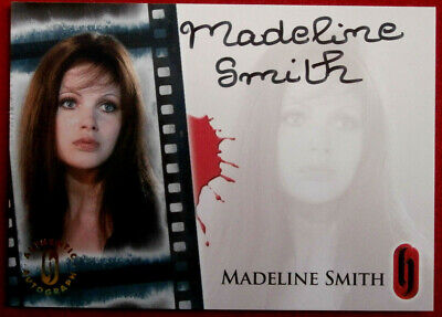 HAMMER HORROR - Madeline Smith - Autograph Card HA7 - Strictly Ink 2007