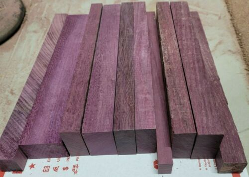 Exotic Solid Purpleheart Scrap Wood Lumber Purple Heart Hardwood