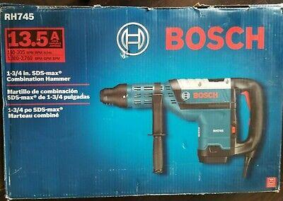 Bosch Rh745 Sds Rotary Hammer Drill 120v 13.5a New In Box