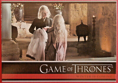 GAME OF THRONES - Season 1 - Card #03 - WINTER IS COMING - Rittenhouse 2012