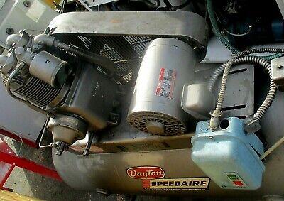 Barton Industrial Dayton Speedair Air Compressor Model 1z784d 5hp 3phdealfcfs