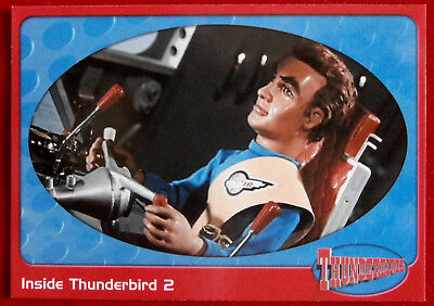 THUNDERBIRDS - Inside Thunderbird 2 - Card #05 - Cards Inc 2001