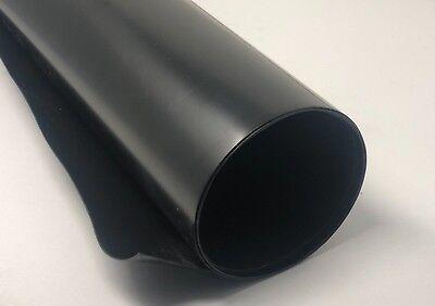 Hdpe High Density Polyethylene Plastic Sheet 332 - 0.093 X 48 X 96 Black
