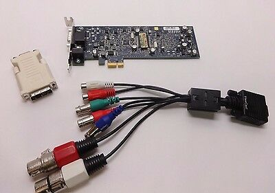 ViewCast Osprey 240e PCI-E Analog Video / Audio Capture Card + Breakout Cable