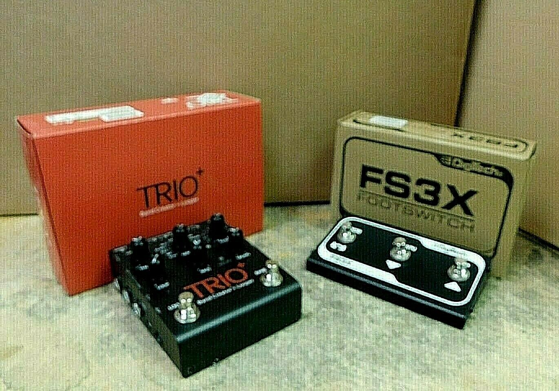 DigiTech Trio+ Band Creator Plus Looper w/ FS3X Footswitch! NAMM Show Display!