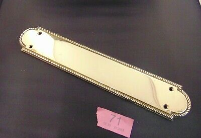 Brass  Door Finger Plate 71