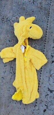 Snoopy Halloween Costume Infant (Pottery Barn Kids Peanuts BABY WOODSTOCK HALLOWEEN COSTUME 0-6 MONTHS)