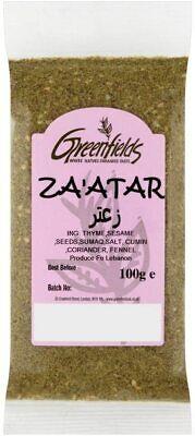 Zaatar Spice Jordan 1st Class Ground Thyme Mix Zataar Za'tar Zatar 100G.