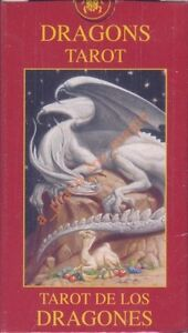 NEW Dragons Tarot MINI Deck Cards Lo Scarabeo