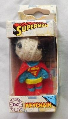 DC Comic Superman String Doll VooDoo Doll Key Chain New](Hello Kitty Voodoo Doll)