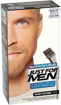 Moustache & Beard Dye, Men's Facial Hair Colour, M10 – Sandy Blonde