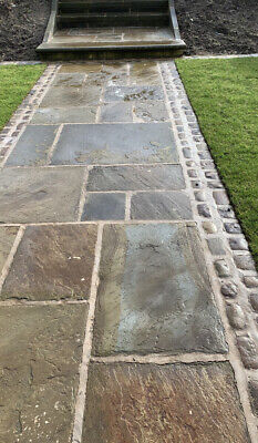 Reclaimed York Stone Paving slabs /flags  From£50-£75asqyd(thestonedealerdirect)