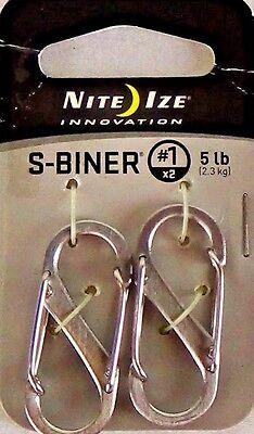 NEW! Nite Ize Innovation S Biner Metal Key Chain / Gadget Organizer! Keys ~