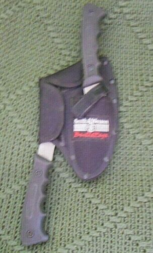 Smith & Wesson Knife /Axe Combo W/ SHEATH used LOOK