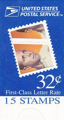 U.S. MAKESHIFT BOOKLET OF 15 SCOTT#BK267 1997 32ct HUMPHREY BOGART  MINT UNOPEND