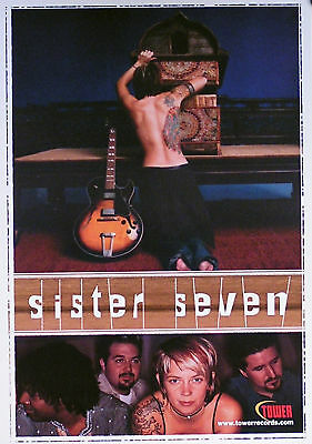 Sister 7 Wrestling Over Tiny Matters 2000 Original Promo Poster