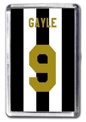 Dwight Gayle Newcastle United Number 9 Football Shirt Fridge Magnet