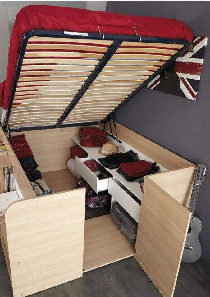 Kids Space Up Double Cabin Bed With Loads Of Storage
