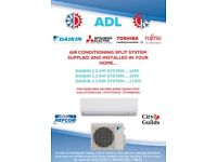 Air Conditioning Installations from £899