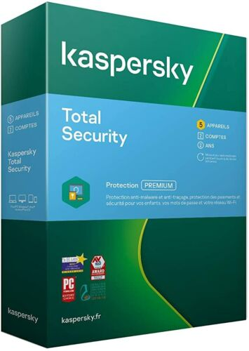 kaspersky Total Security 5 Device 1 year Global Edition ( Renewal Key )