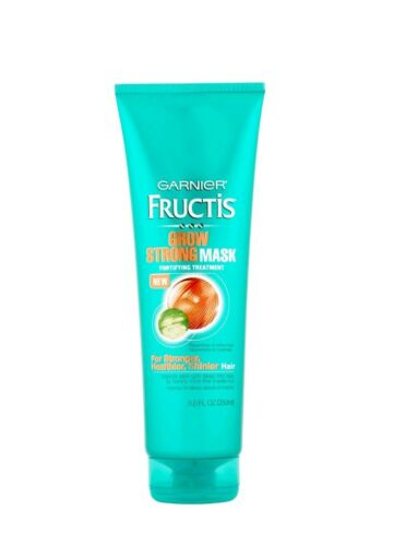 Lot of 4 Garnier Fructis Grow Strong Mask Fortifying Treatme