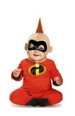 12 Month Baby Halloween Costume (NEW Incredibles 2 Jack Jack Baby Halloween Super Hero Costume 12-18)