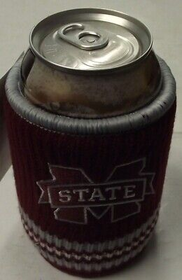 College NCAA 0718-80665 Mississippi State Bulldogs Woolie Beverage Insulator