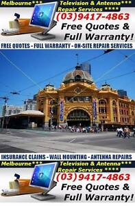 TV & Antenna Repair Melbourne - All makes & models - FREE QUOTE Fitzroy Yarra Area Preview