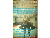 LARKHALL 7.4.17 Switch off (electro & stress) to switch on to relaxxx chillout night Friday 7.4.17