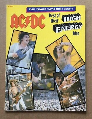 AC/DC Best Of Their High Energy Hits The Years With Bon Scott 1980 Rare