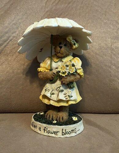 Boyds Bear Bearstone #4015163 Blossom Daisybloom...Bouquet of Friendship ~ 1E