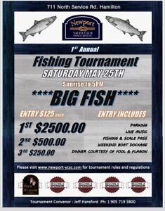 First annual fishing tournament