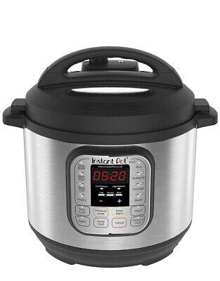 Instant Pot Duo 7-In-1 Electric Pressure Cooker, 6 Qt, 5.7 Litre, 1000 W,