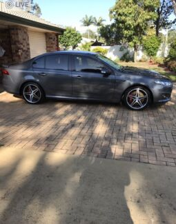 Falcon Fgx Xr8 custom wheels and new Dunlop tyres