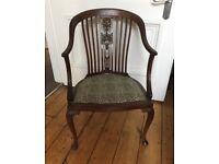 Beautiful Edwardian Occasional Chair