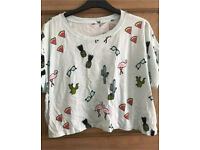 C river island flamingo t shirt 12