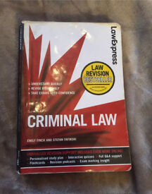 Law Express Criminal Law textbook