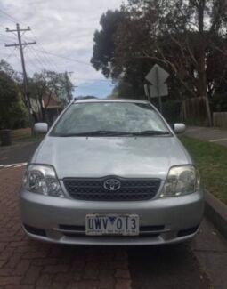 Toyota Corolla Ascent 2002 Croydon South Maroondah Area Preview