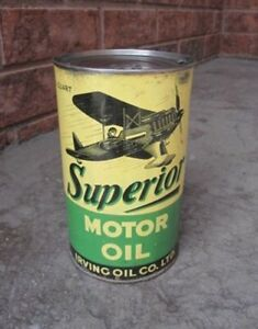 Wanted Irving superior oil can