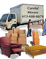 Ottawa Careful  Movers Moving Services 613-608-0079