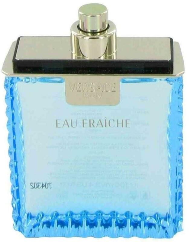 Versace Man Eau Fraiche Eau de Toilette for Men 3.3 / 3.4 oz New tester