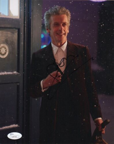 Peter Capaldi Doctor Who Autographed Signed 8x10 Photo COA #7