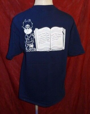 1998 Knott's Halloween Haunt GHOST TOWN STREETS ZOMBIE TRIBE Shirt XL Scary - Farm Town Halloween Farms