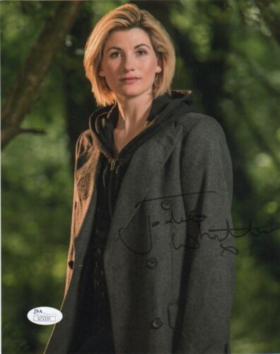 Jodie Whittaker Doctor Who Autographed Signed 8x10 Photo JSA COA #S8